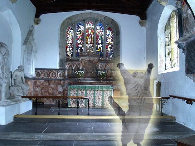 Caernarfonshire, Llandegai Church Altar and Window