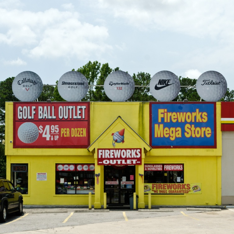 golf ball outlet fireworks megastore hardeeville sc