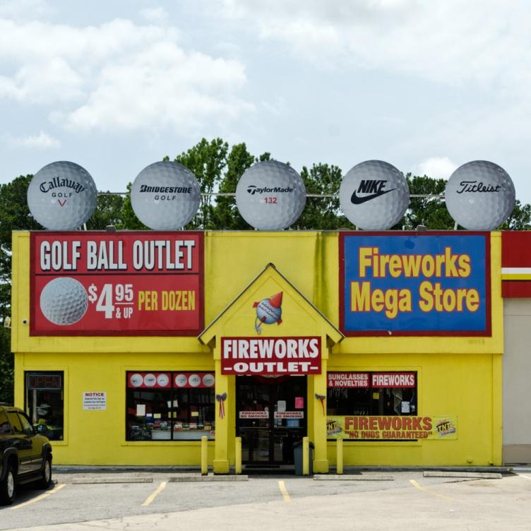 golf ball outlet fireworks megastore hardeeville sc