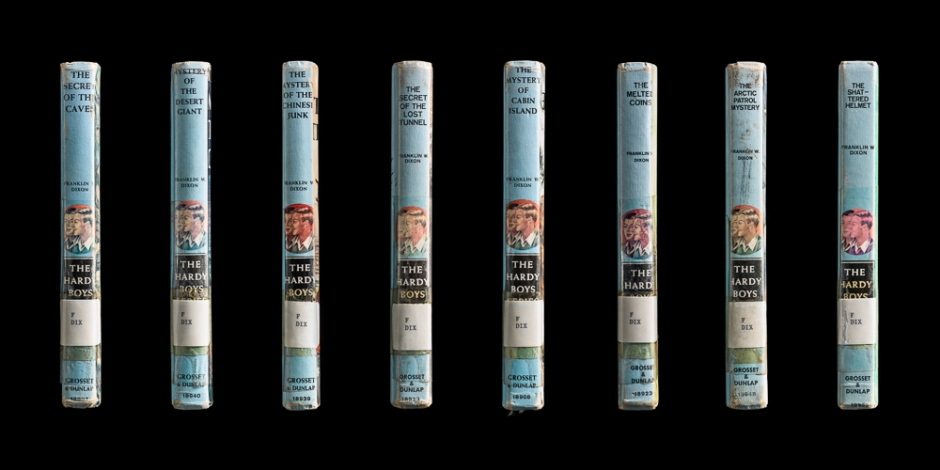 Kerry Mansfield, Hardy Boys Set, Multiple Spines. From the series Expired.